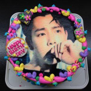 芸能人のフォトケーキ