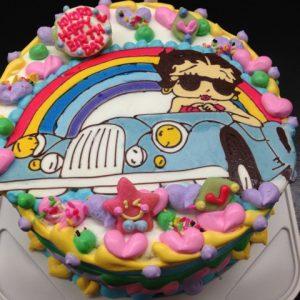 ベティちゃんのキャラクターケーキ