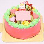 ピンククリスマスケーキはとってもキュート♪豊橋でクリスマスケーキを頼むなら豊橋ケーキのブランティーグル