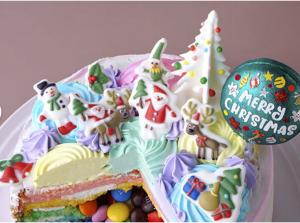 ギミッククリスマスケーキ アップ
